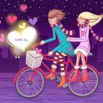 قالب وبلاگ عاشقانه (love is)